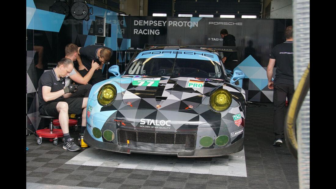 Porsche 911 RSR - Dempsey-Proton Racing - LMGTE Pro - Startnummer #77 - WEC - Nürburgring - 6-Stunden-Rennen - Sonntag - 24.7.2016