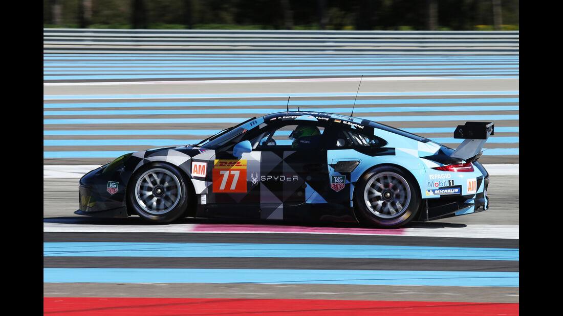 Porsche 911 RSR Dempsey Racing Proton - WEC-Test - Prolog - Paul Ricard - 2015