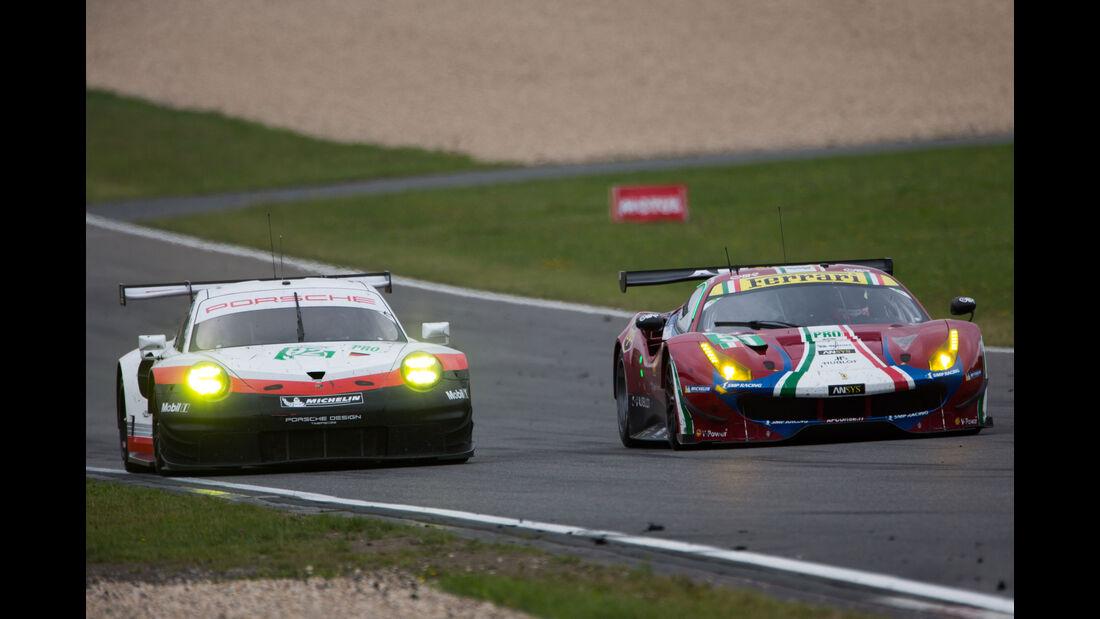 Porsche 911 RSR - Ferrari 488 GTE - LMGTE Pro - GT-Rennsport