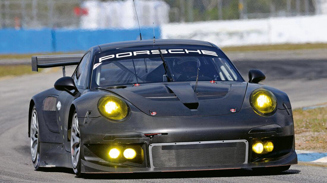 Porsche 911 RSR, Frontansicht