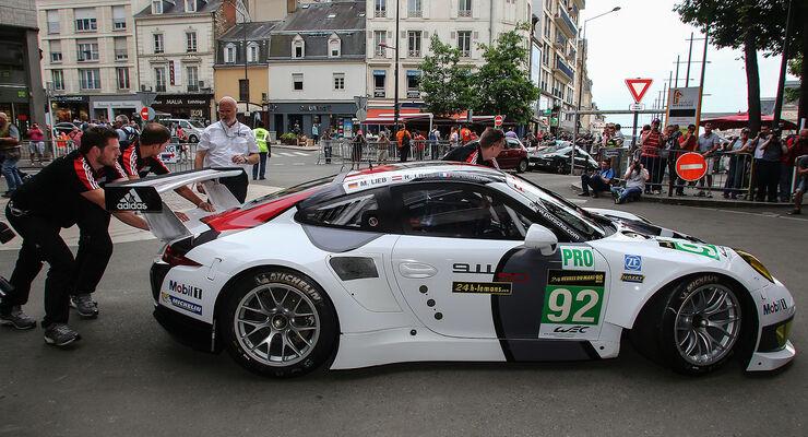 Porsche 911 RSR, GTE-Klasse, 24h-Rennen LeMans 2013