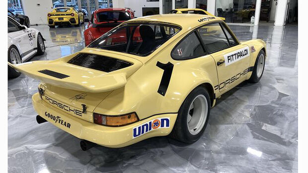 O Porsche 911 RSR IROC foi desenhado por Pablo Escobar