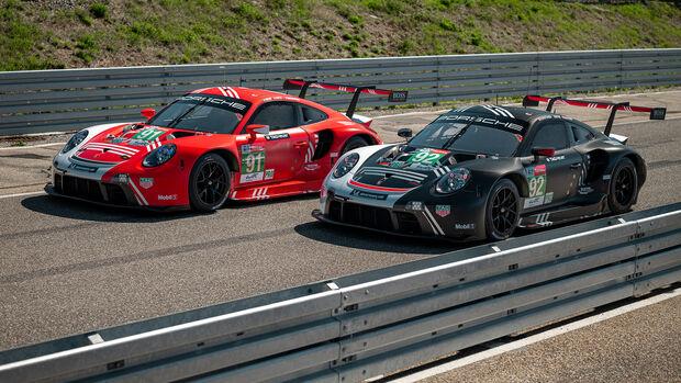 Porsche 911 RSR - Le Mans 2020 - Lackierung