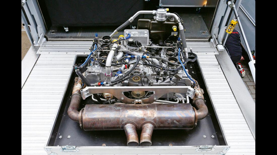 Porsche 911 RSR, Motor
