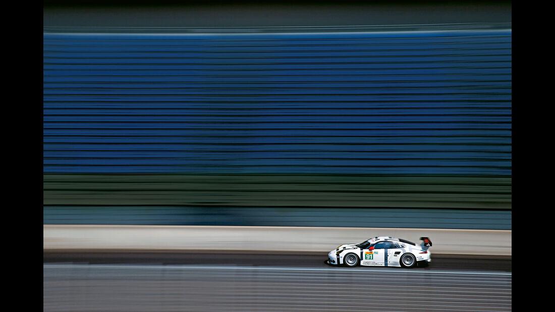 Porsche 911 RSR, Seitenansicht