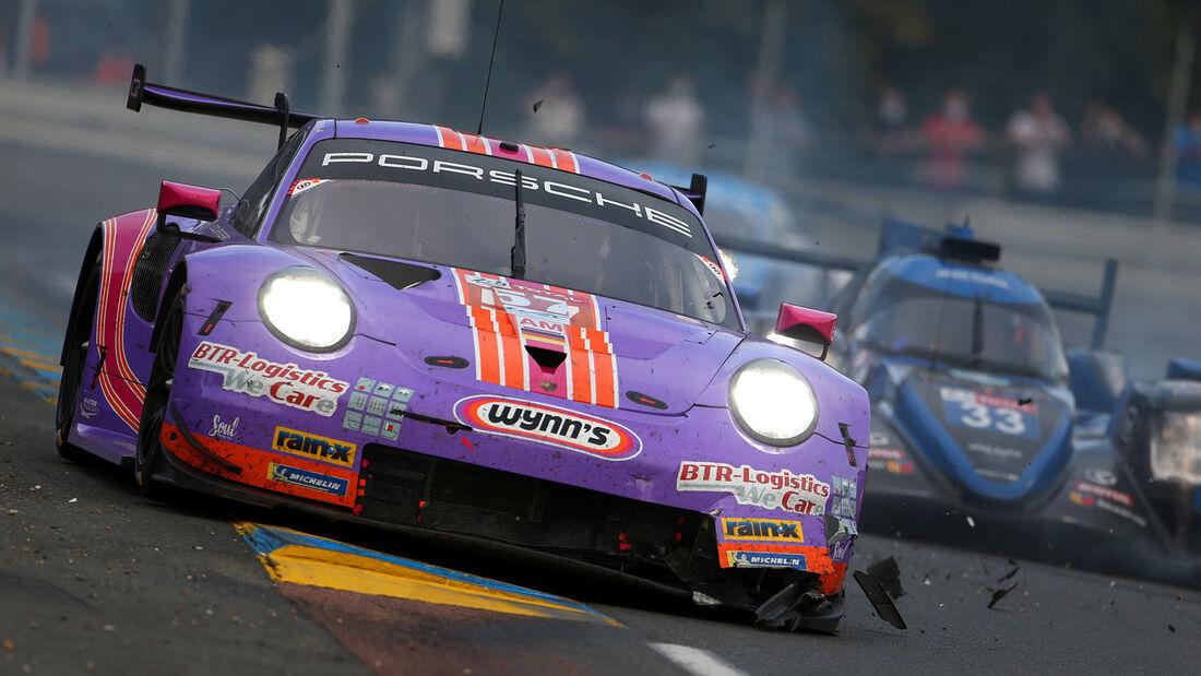 Porsche 911 RSR - Startnummer #57 - Klasse: GTE Am - 24h-Rennen - Le Mans 2020