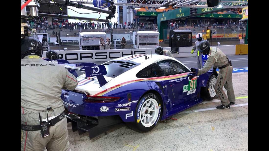 Porsche 911 RSR - Startnummer #91 - 24h-Rennen Le Mans 2018 - Qualifying