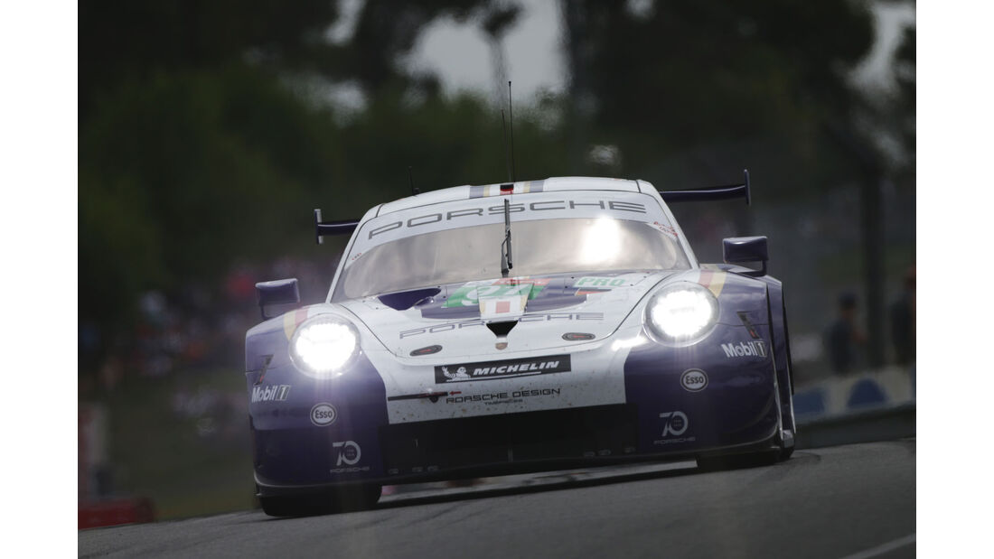 Porsche 911 RSR - Startnummer #91 - 24h-Rennen Le Mans 2018 - Samstag - 16.6.2018