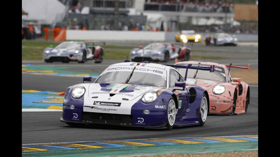 Porsche 911 RSR - Startnummer #91 - 24h-Rennen Le Mans 2018 - Sonntag - 17.6.2018