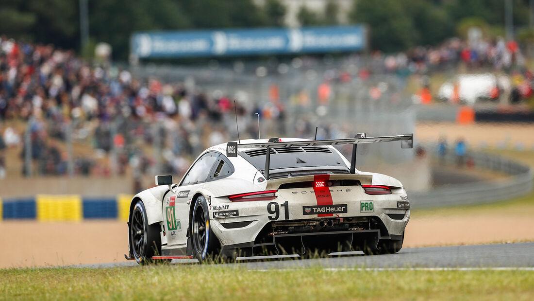 Porsche 911 RSR - Startnummer #91 - 24h-Rennen Le Mans 2021