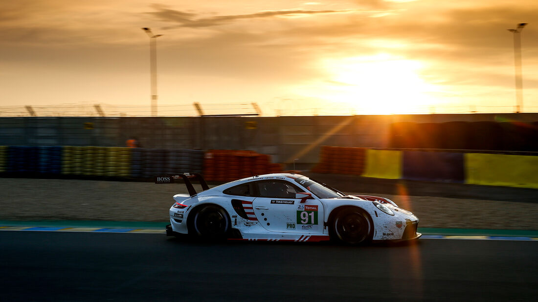Porsche 911 RSR - Startnummer #91 - Klasse: GTE Pro - 24h-Rennen - Le Mans 2020