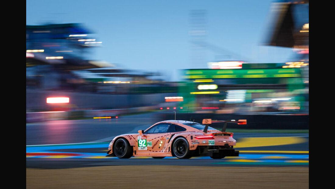 Porsche 911 RSR - Startnummer #92 - 24h-Rennen Le Mans 2018 - Qualifying