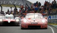 Porsche 911 RSR - Startnummer #92 - 24h-Rennen Le Mans 2018 - Samstag - 16.6.2018