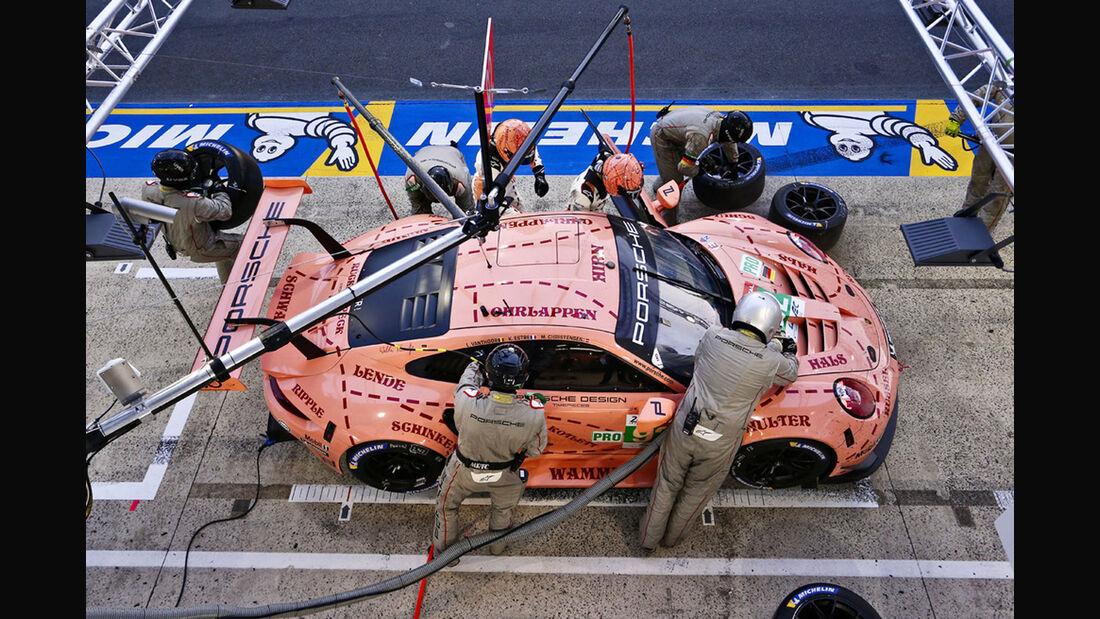 Porsche 911 RSR - Startnummer #92 - 24h-Rennen Le Mans 2018 - Sonntag - 17.6.2018