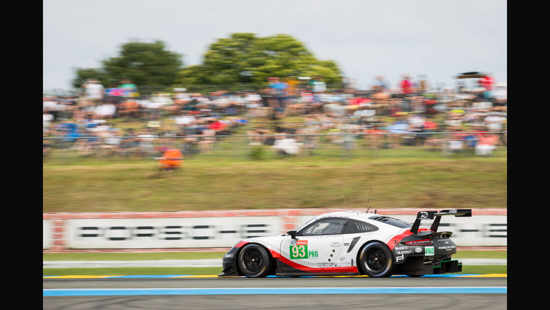 Porsche 911 RSR - Startnummer #93 - 24h-Rennen Le Mans 2018 - Samstag - 16.6.2018