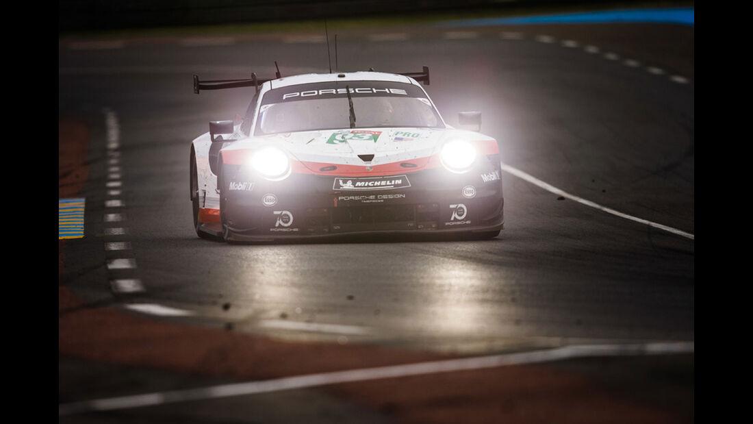 Porsche 911 RSR - Startnummer #93 - 24h-Rennen Le Mans 2018 - Sonntag - 17.6.2018