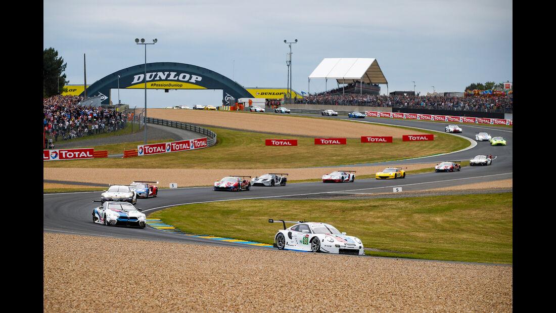 Porsche 911 RSR - Startnummer #93 - 24h-Rennen Le Mans - Samstag - 15.06.2019