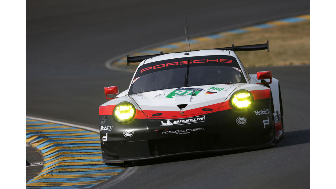 Porsche 911 RSR - Vortest - 24h-Rennen Le Mans 2017