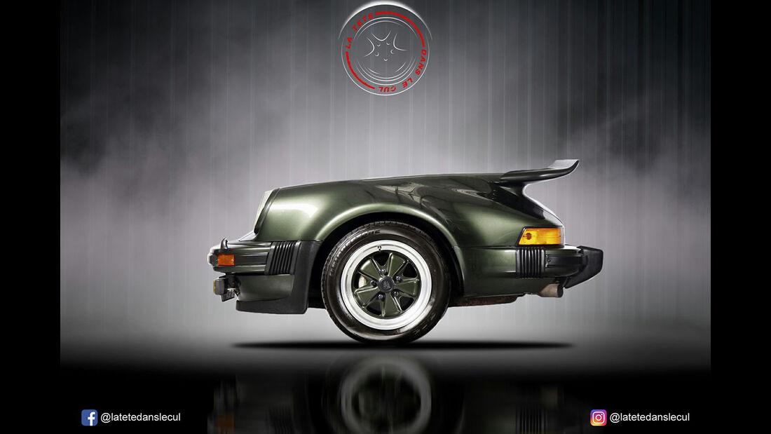 Porsche 911 Retusche