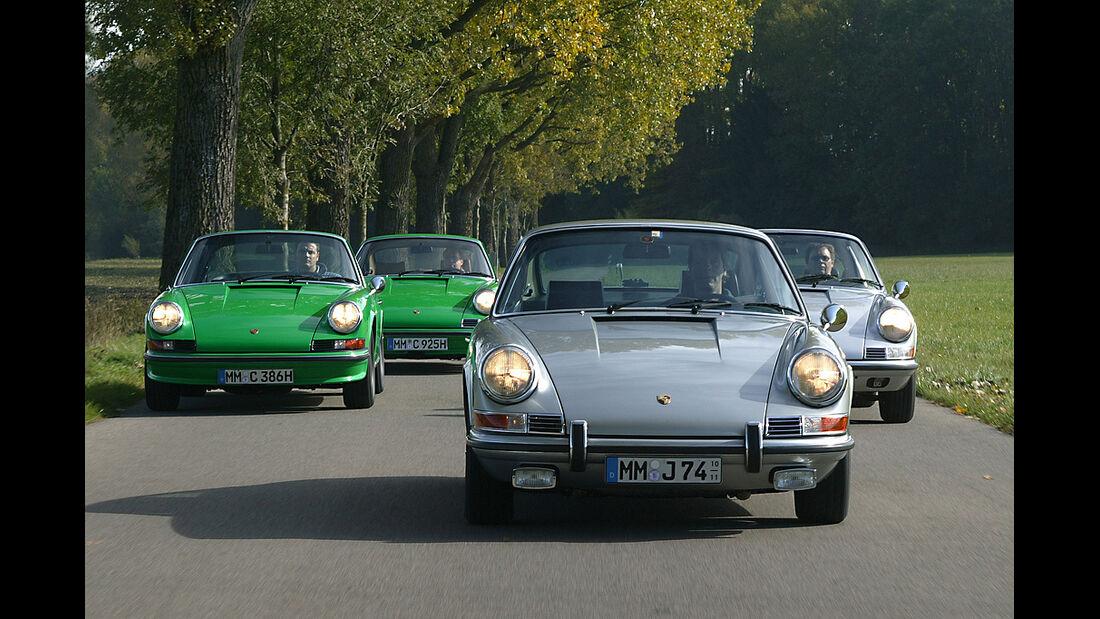 Porsche 911 S Coupe, Porsche 911 S Targa
