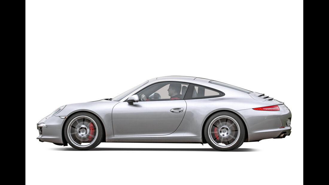 Porsche 911 S, Seitenansicht