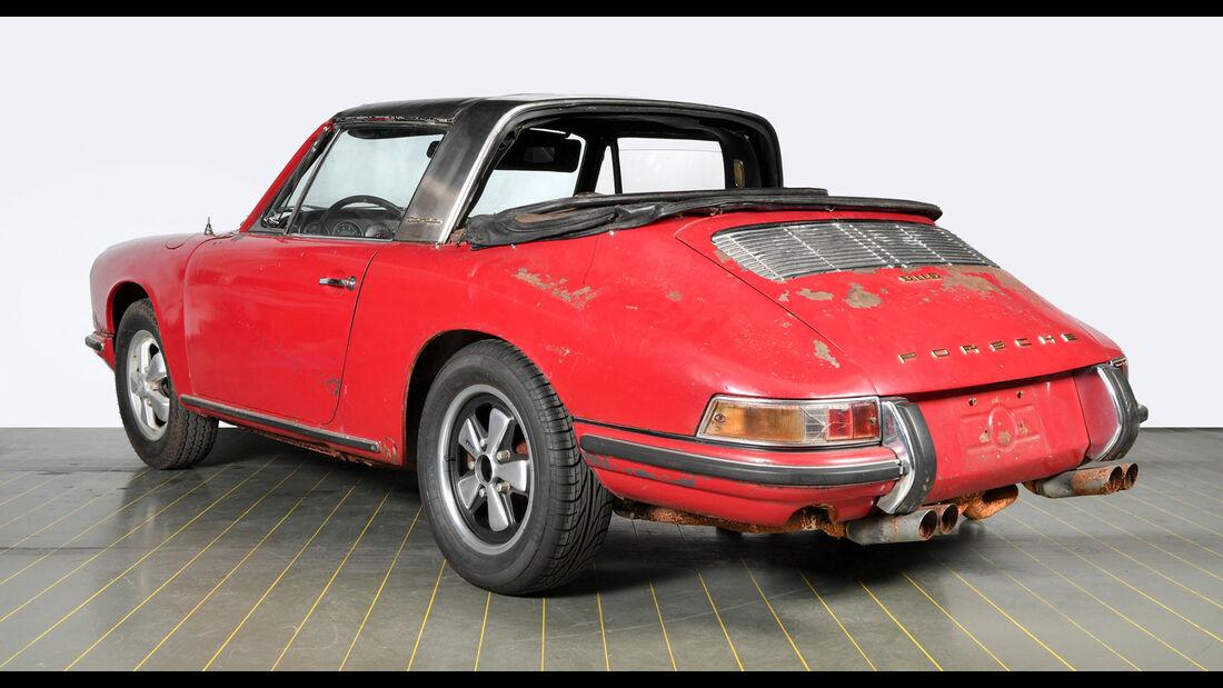 Porsche 911 S Targa Softwindow (1967) Werks-Restaurierung