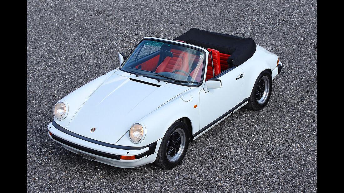 Porsche 911 SC Cabriolet 1983 Oldtimer Auktion Toffen
