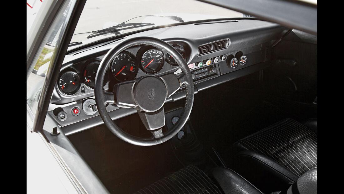 Porsche 911 SC-L 3.1, Cockpit, Lenkrad