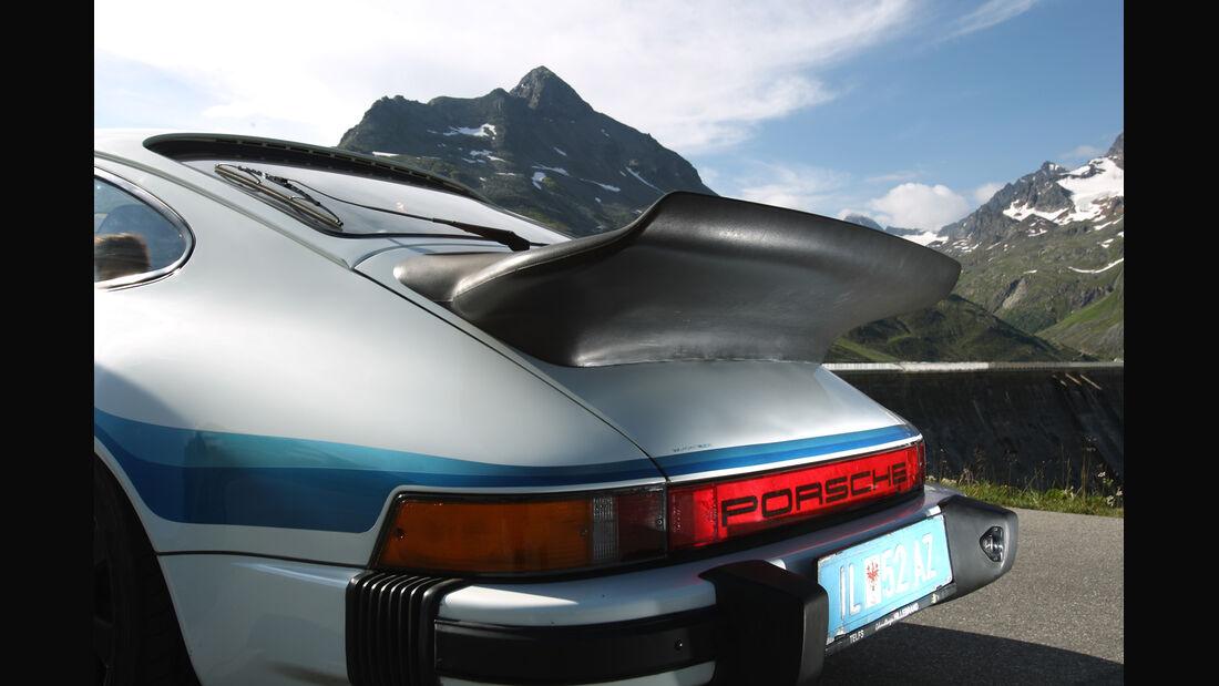 Porsche 911 SC-L 3.1, Heckflügel