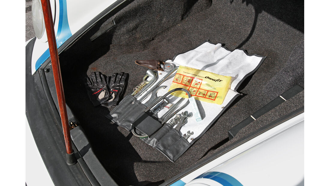 Porsche 911 SC-L 3.1, Kofferraum
