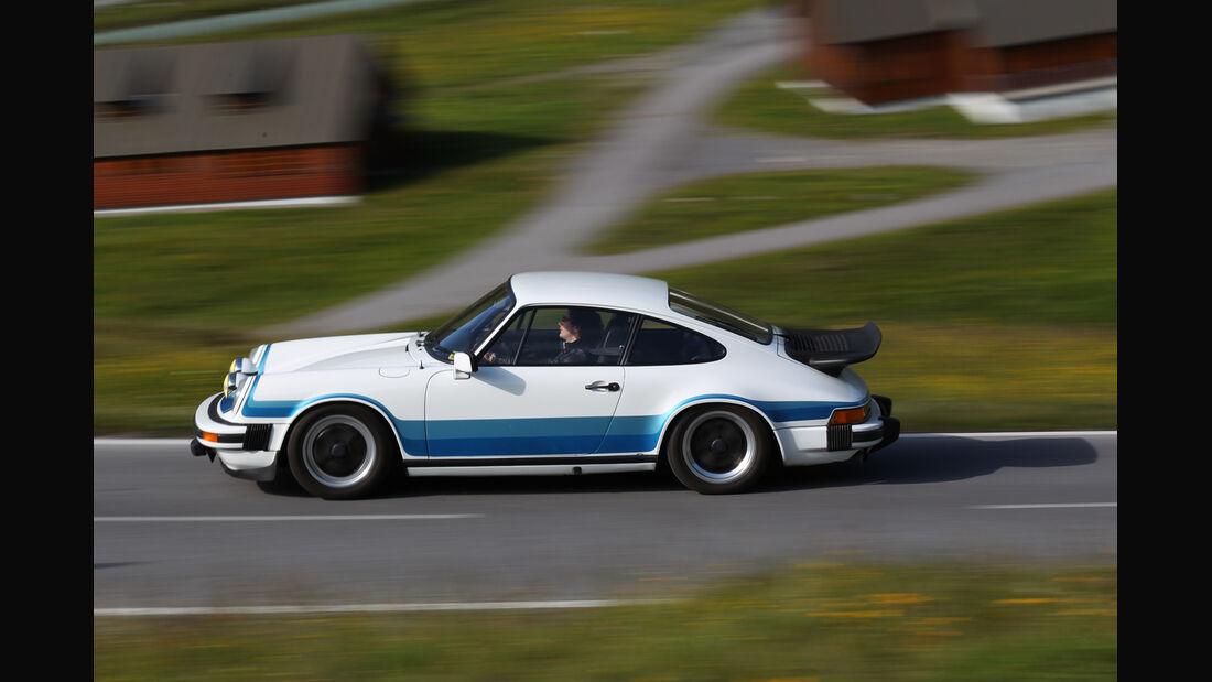 Porsche 911 SC-L 3.1, Seitenansicht