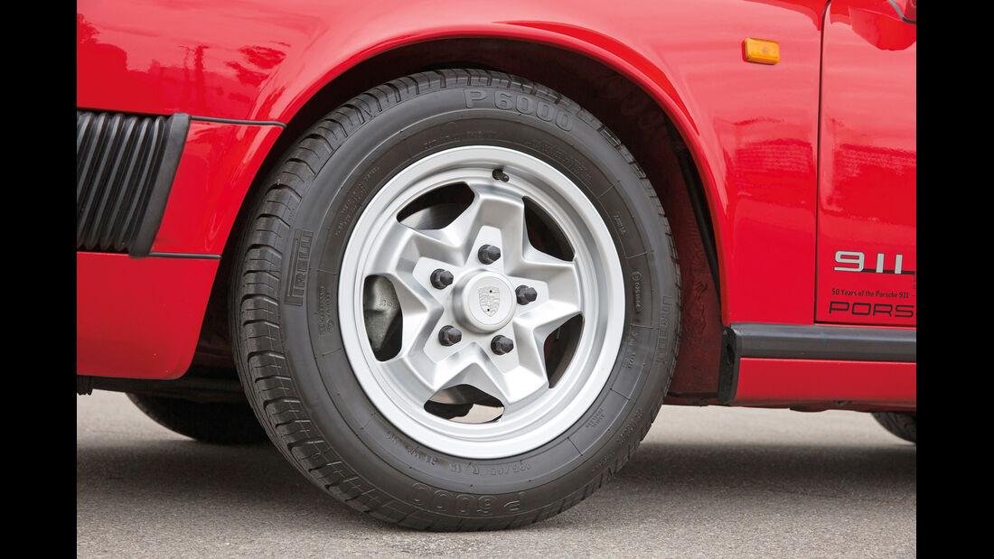 Porsche 911 SC, Rad, Felge