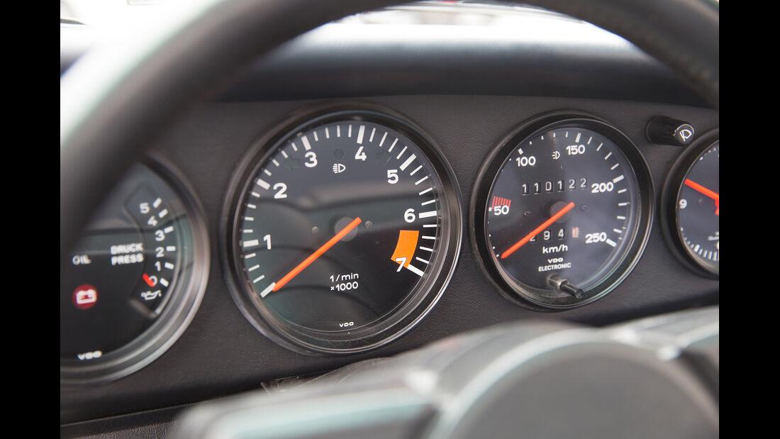 Porsche 911 SC, Rundinstrumente