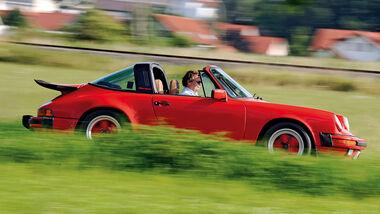 Porsche 911 SC Targa, Seitenansicht
