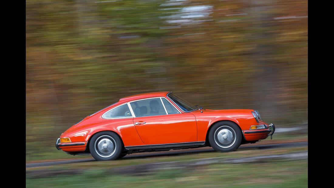 Porsche 911, Seitenansicht