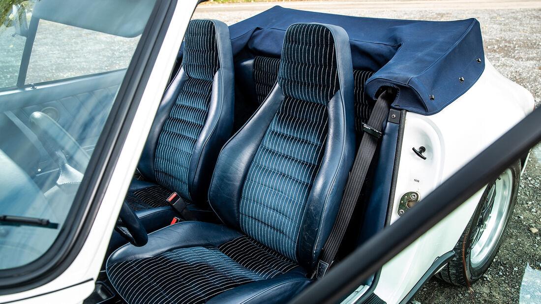 Porsche 911, Sitz