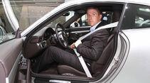 Porsche 911 Sitzprobe
