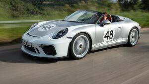 Porsche 911 Speedster 2019 Fahrbericht Aufmacher