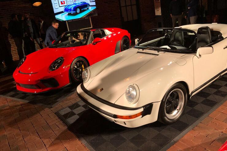 Porsche 911 Speedster 2019 Sportwagen Mit Wichtiger