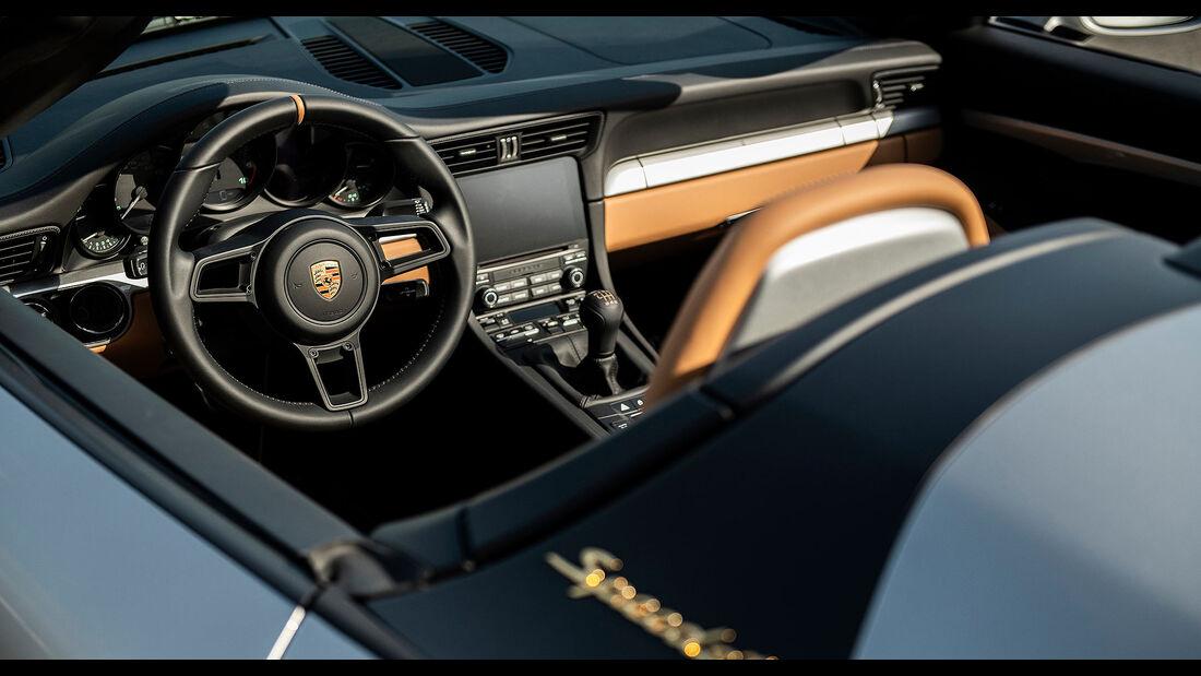 Porsche 911 Speedster 991 letzter