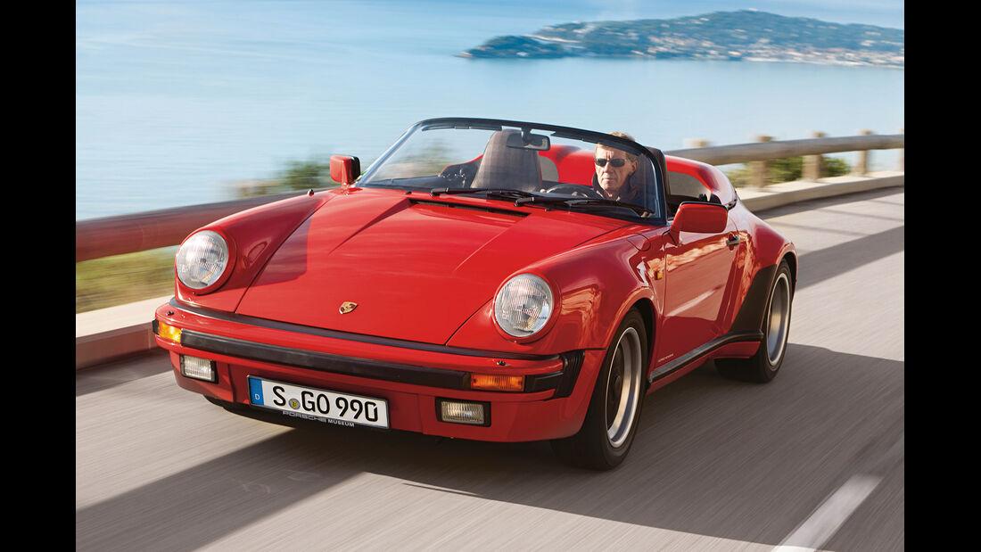 Porsche 911 Speedster, Frontansicht