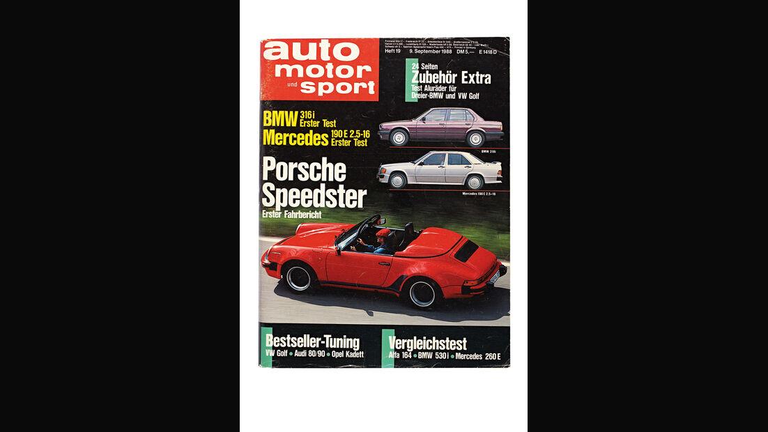 Porsche 911 Speedster, Hefttitel