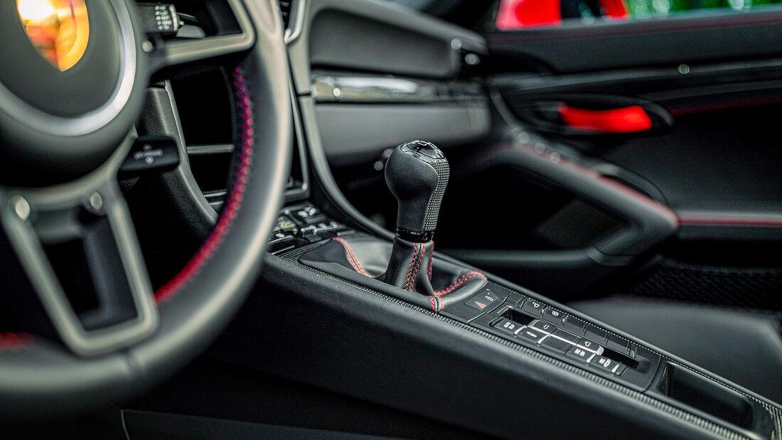 Porsche 911 Speedster, Interieur
