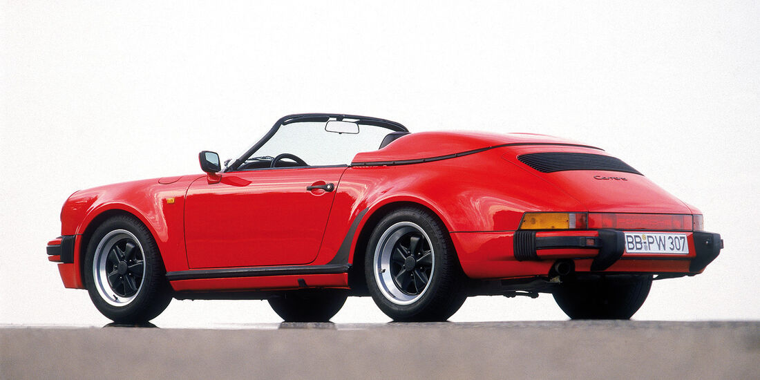 Porsche 911 Speedster, Seitenansicht