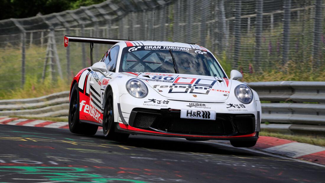 Porsche 911 - Startnummer #80 - Huber Motorsport - SP7 - NLS 2020 - Langstreckenmeisterschaft - Nürburgring - Nordschleife