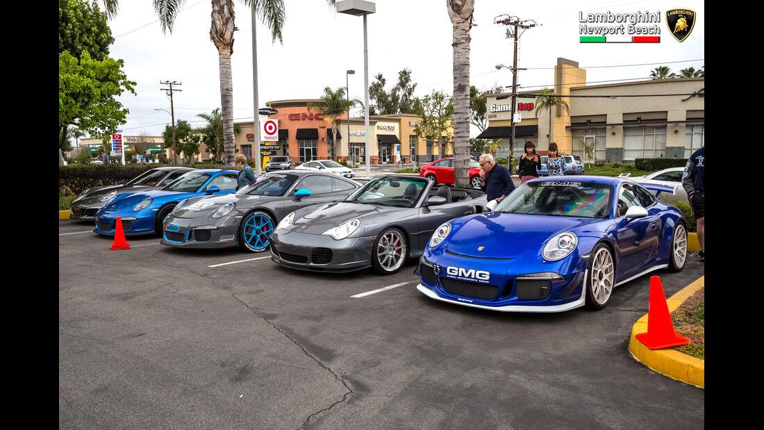 Porsche 911 - Supercar Show - Lamborghini Newport Beach