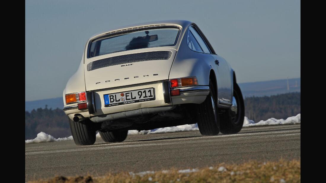 Porsche 911 T 2.0, Heck