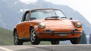 Porsche 911 T 2.2 Targa, Frontansicht