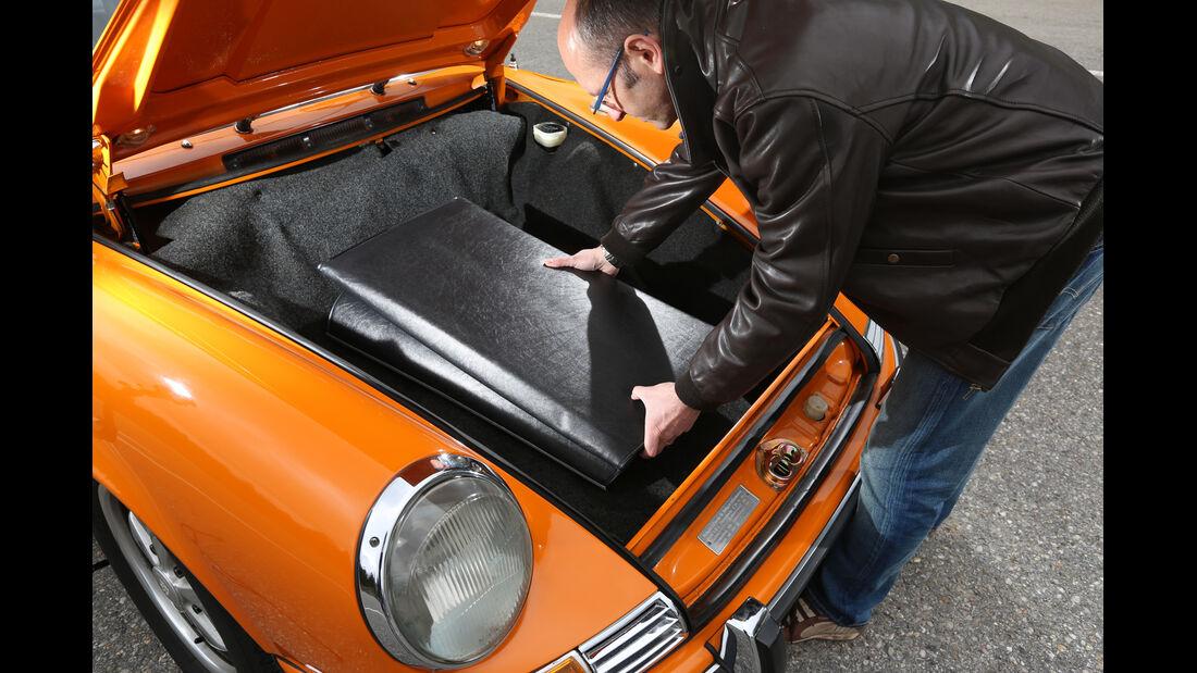 Porsche 911 T 2.2 Targa, Kofferraum