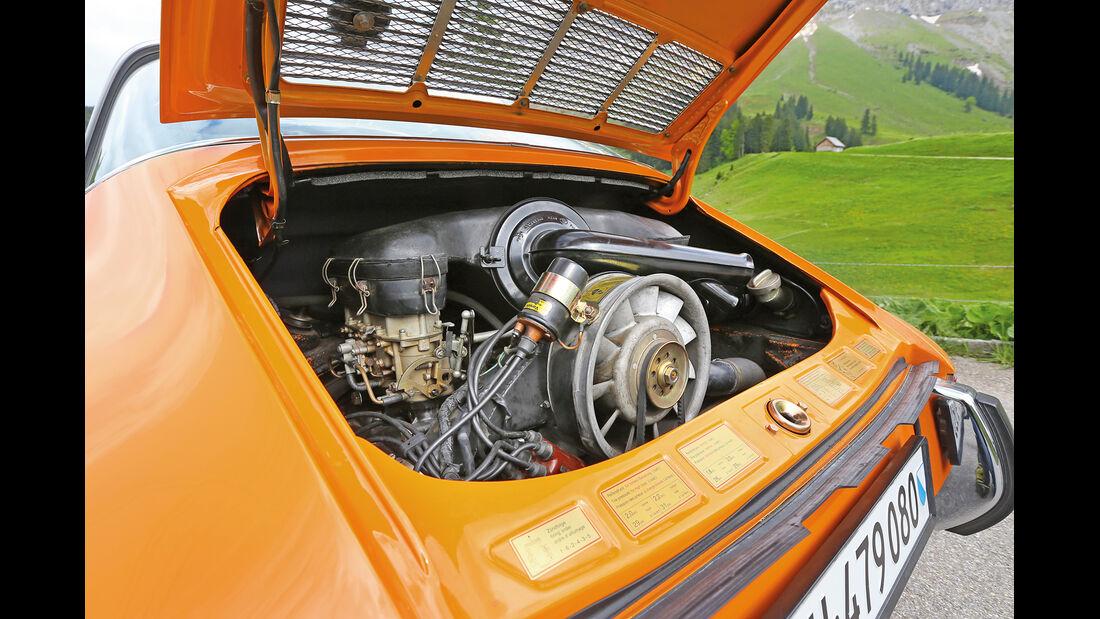 Porsche 911 T 2.2 Targa, Motor